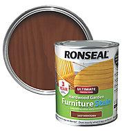 Ronseal Hardwood Deep mahogany Furniture Wood stain, 750ml