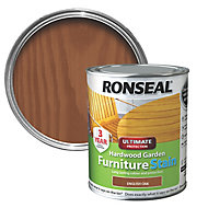 Ronseal Hardwood English oak Furniture Wood stain, 0.75L
