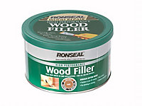 Ronseal High performance Dark Ready mixed Wood Filler 275g