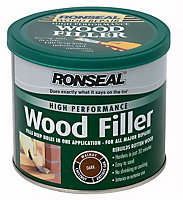 Ronseal High performance Dark Ready mixed Wood Filler 550g