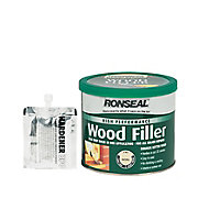 Ronseal High performance Natural Ready mixed Wood Filler 550g