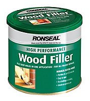 Ronseal High performance White Ready mixed Wood Filler 550g