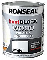Ronseal Knot Block White Wood Primer & undercoat 2.5L