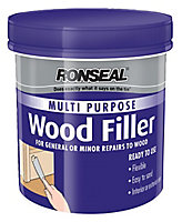 Ronseal Multi purpose Dark Ready mixed Wood Filler 250g