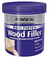 Ronseal Multi purpose Dark Ready mixed Wood Filler 465g