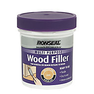 Ronseal Multi purpose Light Ready mixed Wood Filler 465g