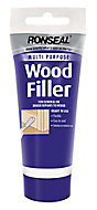 Ronseal Multi purpose Natural Ready mixed Wood Filler 100g