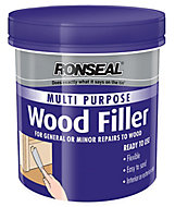Ronseal Multi purpose Natural Ready mixed Wood Filler 930g