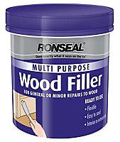 Ronseal Multi purpose Natural Ready mixed Wood Filler 930g