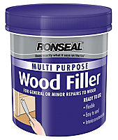 Ronseal Multi purpose White Ready mixed Wood Filler 465g