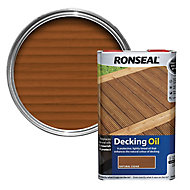 Ronseal Natural cedar Decking Wood oil, 5L