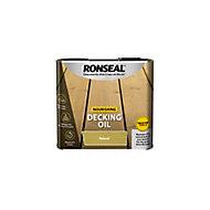 Ronseal Natural Matt Decking Wood oil, 2.5L