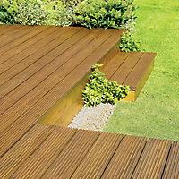 Ronseal Natural oak Matt UV resistant Decking Wood oil, 2.5L
