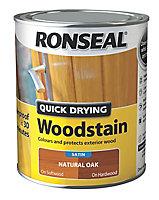 Ronseal Natural oak Satin Wood stain, 750ml
