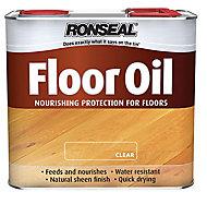 Ronseal Natural Soft sheen Wood oil, 1L