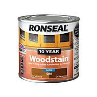 Ronseal Oak Satin Wood stain, 250ml