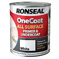 Ronseal One coat White Multi surface Primer & undercoat 2.5L