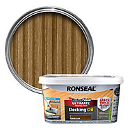Ronseal Perfect finish Dark oak Decking Wood oil, 2.5L