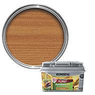 Ronseal Perfect finish Teak Furniture Wood oil, 0.75L