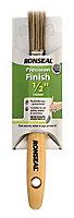 "Ronseal Precision finish 0.5"" Fine tip Flat Paint brush"