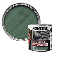 Ronseal Rescue Matt willow Decking paint, 2.5L