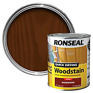 Ronseal Rosewood Gloss Wood stain, 0.75L