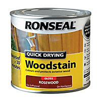 Ronseal Rosewood Gloss Wood stain, 250ml