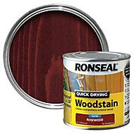 Ronseal Rosewood Satin Wood stain, 2.5