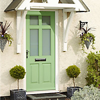 Ronseal Spring green Satin Wood paint, 750ml