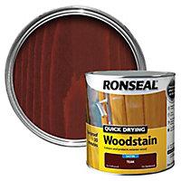 Ronseal Teak Satin Wood stain, 2.5
