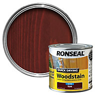 Ronseal Teak Satin Wood stain, 250ml