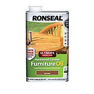 Ronseal Ultimate Natural Furniture Wood oil, 0.5L