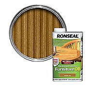 Ronseal Ultimate Natural oak Furniture Wood oil, 1L