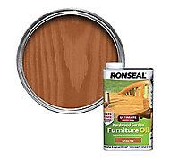 Ronseal Ultimate Natural teak Furniture Wood oil, 1L