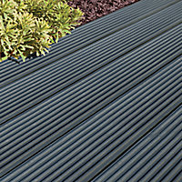 Ronseal Ultimate protection Charcoal Matt Decking Wood stain, 2.5L