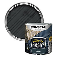 Ronseal Ultimate protection Matt charcoal Decking paint, 2.5L