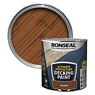 Ronseal Ultimate protection Matt chestnut Decking paint, 2.5L