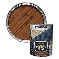 Ronseal Ultimate protection Matt chestnut Decking paint, 5L