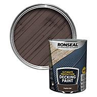 Ronseal Ultimate protection Matt english oak Decking paint, 5L