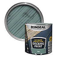 Ronseal Ultimate protection Matt sage Decking paint, 2.5L