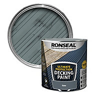 Ronseal Ultimate protection Matt slate Decking paint, 2.5L