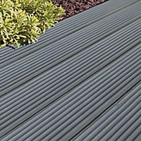 Ronseal Ultimate protection Slate Matt Decking Wood stain, 2.5L