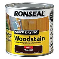 Ronseal Walnut Gloss Wood stain, 250ml