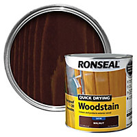 Ronseal Walnut Satin Wood stain, 2.5L