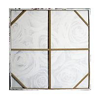 Roses Blush Canvas art (H)900mm (W)900mm