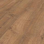 Rostock Oak effect Laminate Flooring, 1.48m² Pack
