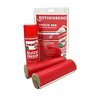 Rothenberger 7 piece 28mm Pipe freezing kit