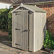 Rowlinson Heritage 4x3 Apex Wooden Shed
