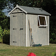 Rowlinson Heritage 6x4 Apex Wooden Shed