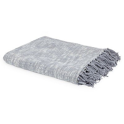 Rural Grey Diamond Throw Diy At B Q